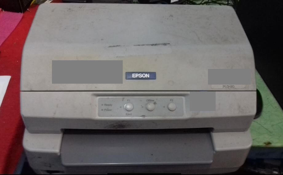 Cara Mengganti Jarum Head Printer Epson PLQ-20