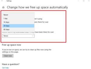 menghapus file Recycle Bin secara otomatis