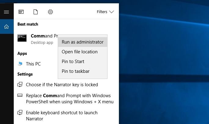 Cara menginstal Net Framework 3.5 Offline di Windows 10