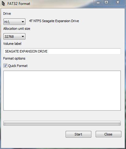 Cara Format Hard Drive 4TB Menjadi Sistem FAT32