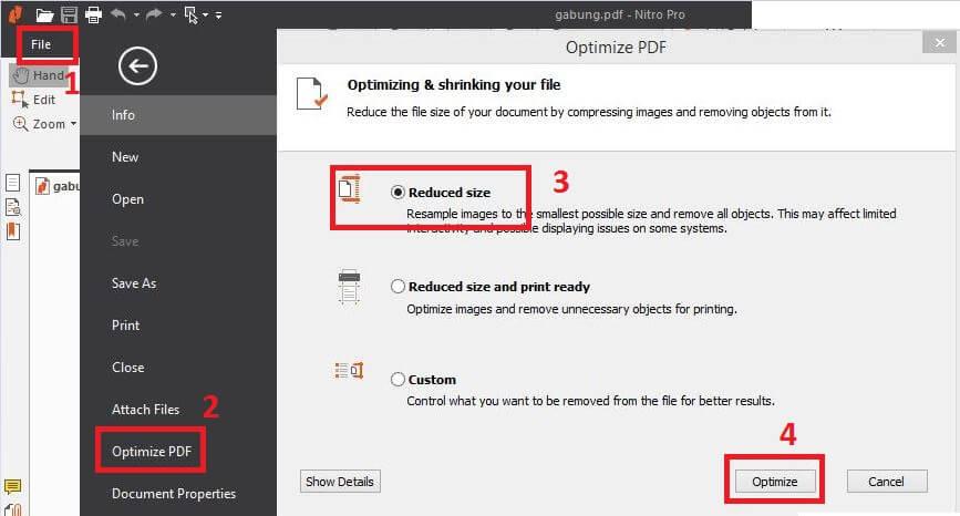 Cara Mengecilkan Ukuran File PDF Secara Offline/Online