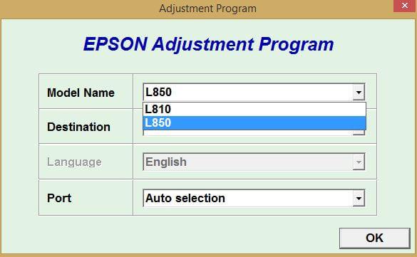 Cara Reset Epson L810 L850 Mengatasi Blinking