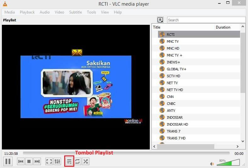 Download IPTV M3U Playlist untuk Streaming TVonline