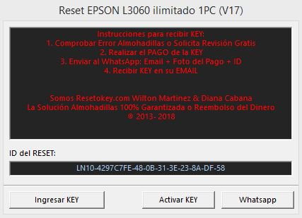 Download Resetter Epson L3060 Adjustment Program Gratis