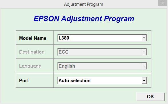 Resetter Epson L380 Terbaru Tanpa Merubah Tanggal