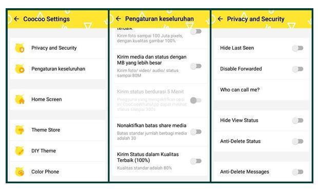 Aplikasi CooCoo WhatsApp APK Terbaru