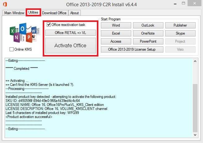 Cara Aktivasi Office 2016 Permanen Terbaru