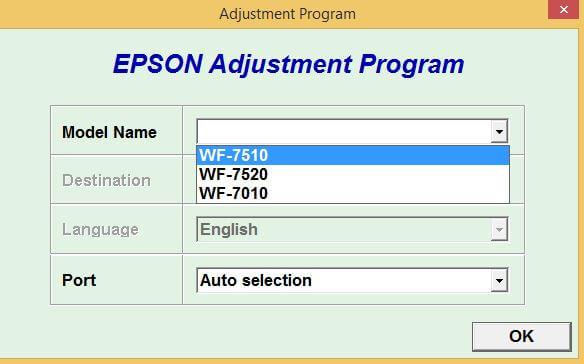Download Resetter Epson WF7010-WF7510-WF7520 Gratis