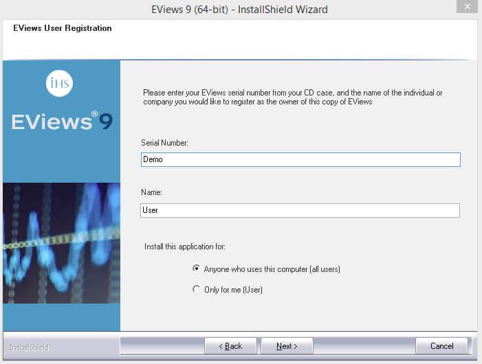 Cara Install Eviews dan Aktivasi di Windows