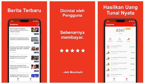 Baca Berita Dapat Uang, Gunakan Aplikasi ini