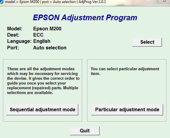 Download Resetter Epson M200 Gratis