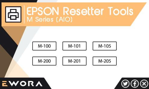 Resetter Epson M series All in One Gratis