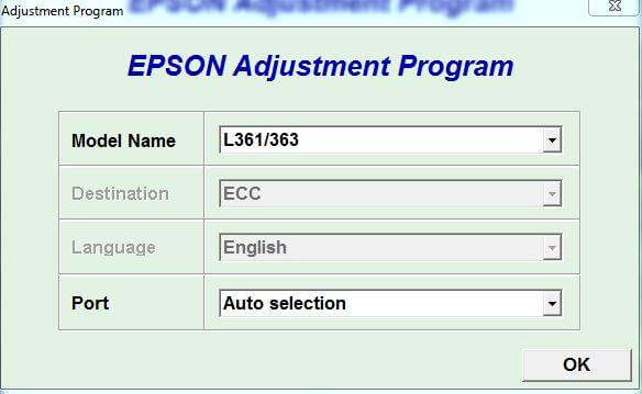 Resetter Epson L361 L363 Download Gratis