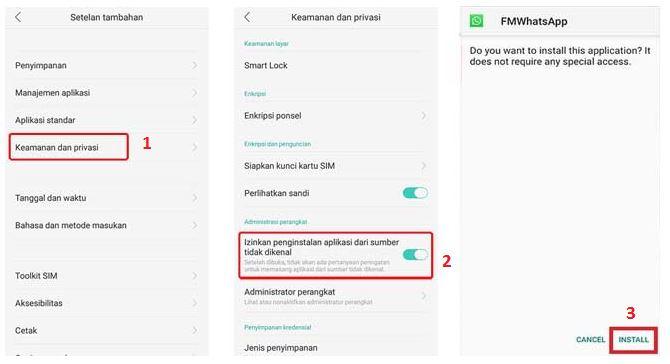 Download FMWhatsApp Anti Banned Terbaru